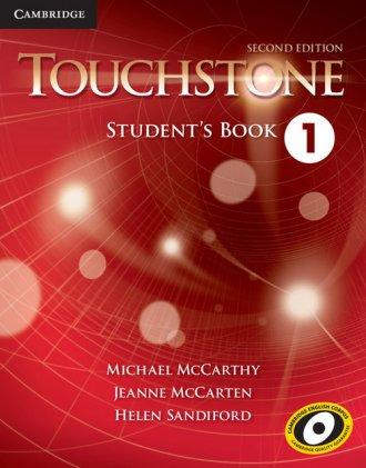 Touchstone 1 Students Book - okładka podręcznika