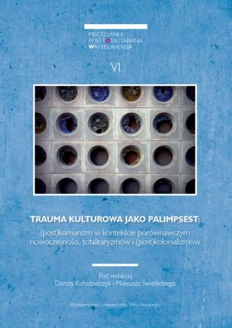 Trauma kulturowa jako palimpsest: - okładka książki
