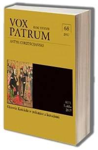 Vox Patrum. Tom 68. Ojcowie Kościoła w polemice z herezjami - okładka książki