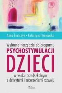 Wybrane narzędzia do programu psychostymulacji - okładka książki