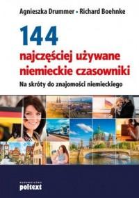 144 najczęściej używane niemieckie - okładka podręcznika