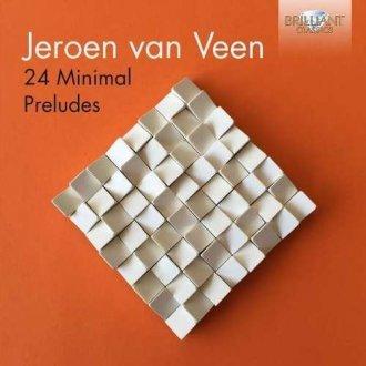 24 minimal preludes - okładka płyty