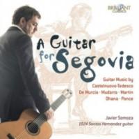A guitar for segovia guitar music by castelnuovo - okładka płyty
