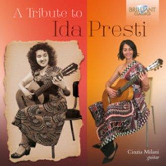 A tribute to ida presti - okładka płyty