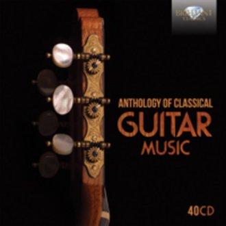 Anthology of classical guitar music - okładka płyty