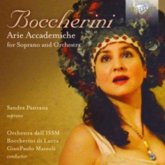 Arie accademiche - okładka płyty
