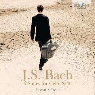 Bach 6 suites for solo cello b - okładka płyty
