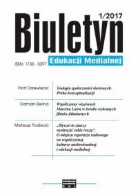 Biuletyn Edukacji Medialnej 1/2017 - okładka książki