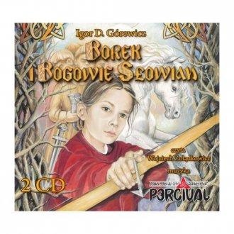 Borek i Bogowie Słowian - pudełko audiobooku