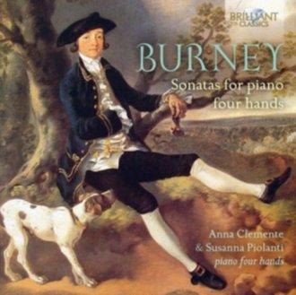 Burney sonatas for piano four hands - okładka płyty