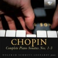 Chopin complete piano sonatas 1-2-3 - okładka płyty