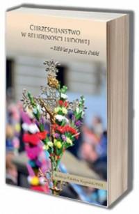 Chrześcijaństwo w religijności - okładka książki