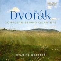 Dvorak complete string quartets - okładka płyty