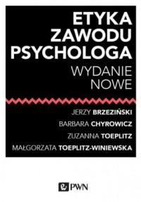 Etyka zawodu psychologa - Jerzy - okładka książki