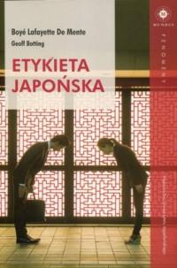 Etykieta japońska. Seria: Fenomeny - okładka książki