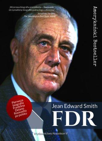FDR Franklin Delano Roosevelt - okładka książki