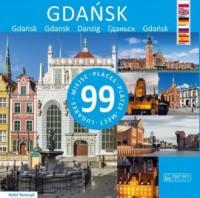 Gdańsk 99 miejsc - okładka książki