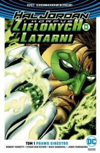 Hal Jordan i Korpus Zielonych Latarni. Tom 1. Prawo Sinestro - okładka książki