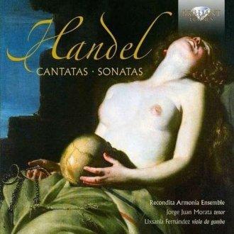 Handel cantatas & sonatas - okładka płyty