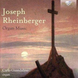Joseph rheinberger organ music - okładka płyty