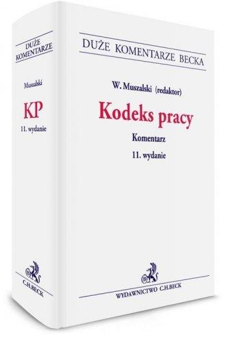 Kodeks pracy Komentarz - okładka książki