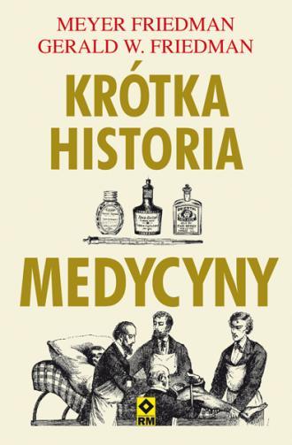 Krótka historia medycyny - okładka książki