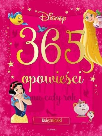 Księżniczki 365 opowieści na cały - okładka książki