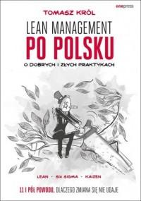 Lean management po polsku. O dobrych - okładka książki
