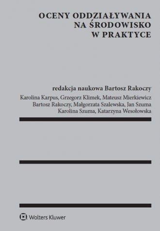 Oceny oddziaływania na środowisko - okładka książki