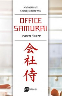 Office Samurai Lean w biurze - - okładka książki