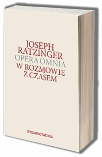 Opera omnia. Tom XIII/1.  W rozmowie - okładka książki