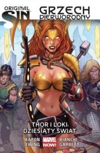 Original Sin. Grzech pierworodny. Thor i Loki - okładka książki
