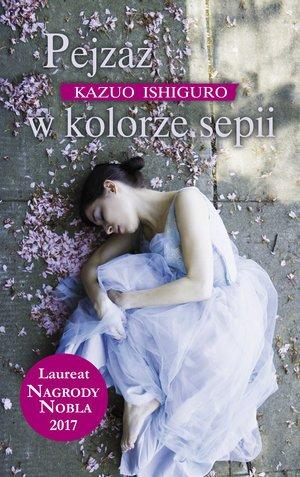 Pejzaż w kolorze sepii - okładka książki