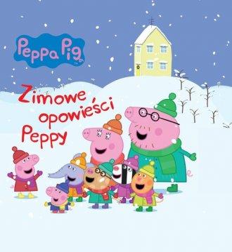 Peppa Pig. Zimowe opowieści Peppy - okładka książki