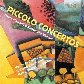 Piccolo concertos - okładka płyty