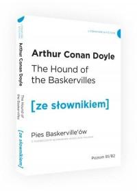 Pies Baskervillów ze słownikiem - okładka książki
