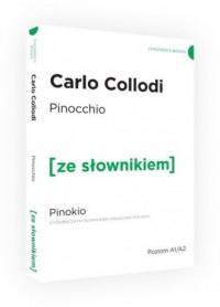 Pinokio ze słownikiem - okładka książki
