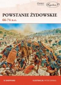Powstanie żydowskie 66-74 n.e. - okładka książki