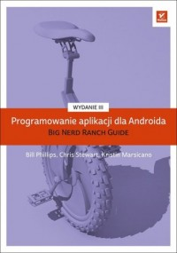 Programowanie aplikacji dla Androida - okładka książki