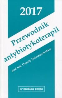 Przewodnik antybiotykoterapii 2017 - okładka książki