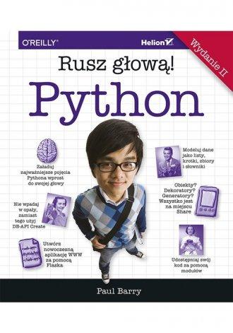 Python. Rusz głową! - okładka książki
