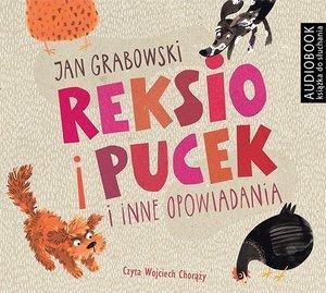 Reksio i Pucek i inne opowiadania - pudełko audiobooku
