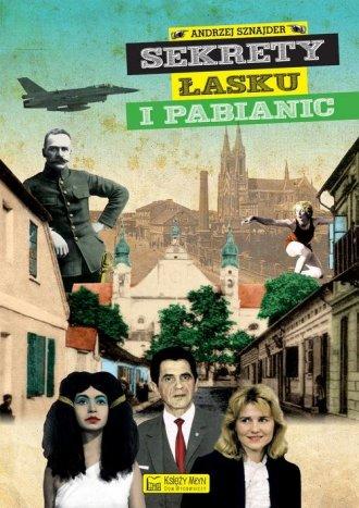 Sekrety Łasku i Pabianic - okładka książki