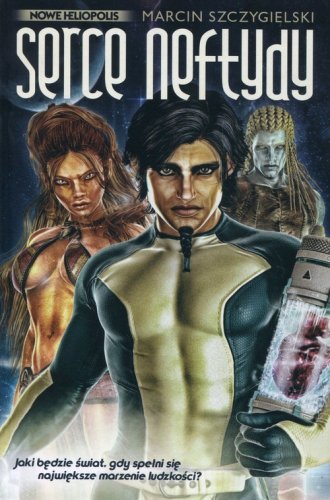 Serce Neftydy - okładka książki