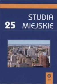 Studia Miejskie. Tom 25 - okładka książki