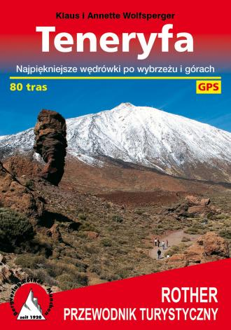 Teneryfa przewodnik turystyczny - okładka książki