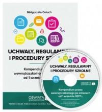 Uchwały regulaminy i procedury - okładka książki
