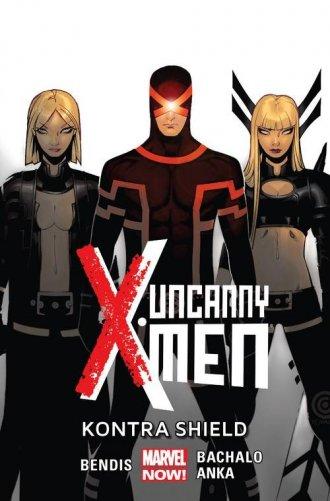Uncanny X-Men. Tom 4. Kontra Shield - okładka książki
