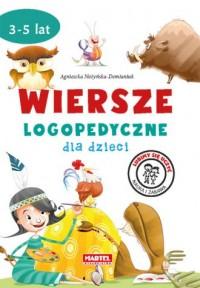 Wiersze logopedyczne dla dzieci - okładka książki