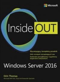 Windows Server 2016. Inside Out - okładka książki